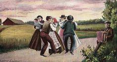 Midsummer dance 1906