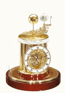 Astrolabium Anniversary Clock by Hermle