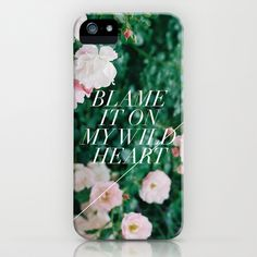 I am not crazy about everything about this case, I do not like the quote, and I do not like that little random white diagonal line.  I am not sure if that was intentional or a glitch in the picture or something.  However, I do love the extremely delicate and italicized font used on this case.  I personally would have been scared to use a font so delicate on top of an image for fear of it blending in, but with the position of the picture and the contrast it stands out very well.
