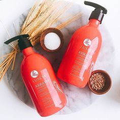 Luseta Keratin Shampoo & Conditioner helps transform hair into silky locks by putting the lost protein back into the hair. #lusetabeauty . . . #keratin #smooth #haircare #hair #shampoo #conditioner #natural #naturalingredients #beauty #instagood #hairproduct #hairgoals #lovehair #monday #luseta #parabenfree #sulfatefree #phosphatefree  #Regram via @lusetabeauty