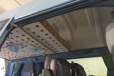 Bett HochDach VW Bus Eigenbau