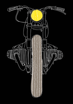 A Country Soul Stuck in the City (For Now) Motorcycle Tattoos, Motorcycle Style, Motos Bmw, Street Motorcycles, Bmw Vintage, Bmw Boxer, Bmw Cafe Racer, R80, Shirt Print Design