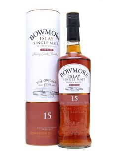 This scotch is for sipping: Bowmore 15 Year Old Islay Single Malt. 2/6/16. Smooth.  This was good