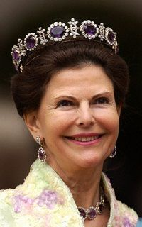 la reine Silvia de norvege