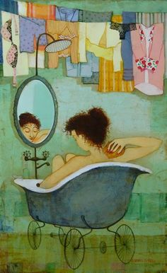 Painting by Otar Imerlishvili