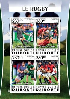 DJB16317a Rugby Rugby, Stamps, Coding, Baseball Cards, Sports, Seals, Hs Sports, Sport, Rugby Sport