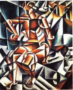 Artist: Ivan Kliun Title: Commemorating Lyubov Popova Medium: Oil This is a great example of using shape and color in his work. I choose this picture because I thought it was really well thought out and very well done.