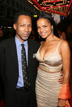 Radcliffe Bailey and Victoria Rowell