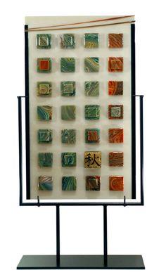 "Clearwater Glass Studio ""Autumn""  #glass #fusedglass #glassart"