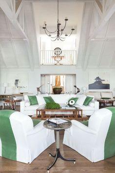 View the portfolio of interior designer Rose Tarlow Melrose House in Los Angeles, CA Melrose House, Melrose Place, Rose Tarlow, Interior Design Portfolios, Green Rooms, Portfolio Design, Dining Table, Living Room, Design Ideas