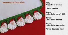 Papai Noel DE CROCHE