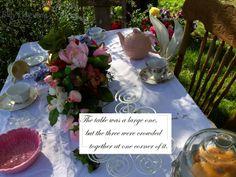 Alice in wonderland mad hatter tea party.