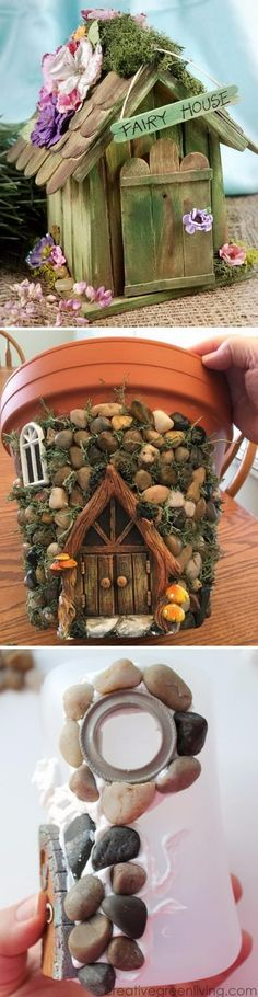 Cool Fairy Garden Houses.