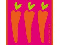 Perfumería El Ajuar - Ficha de producto Paño cocina modelo Carrots de la firma Agatha Ruiz de la Prada