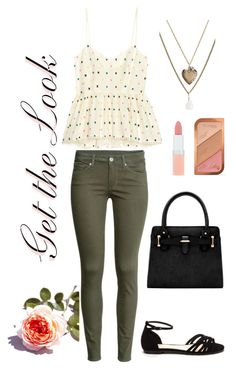 """Untitled #243"" by stephanie-visconti ❤ liked on Polyvore featuring H&M, Aéropostale, Rimmel and GetTheLook"