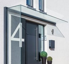 Ideas Front Door Porch Canopy House For 2020 Main Entrance Door Design, Modern Entrance, Modern Front Door, House Entrance, Entrance Doors, Front Door Overhang, Front Door Porch, Front Door Canopy, Porch Canopy