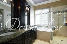 Master Bathrooms, Personal Spaces, Romantic and Functional, relaxing, refined, perfect.