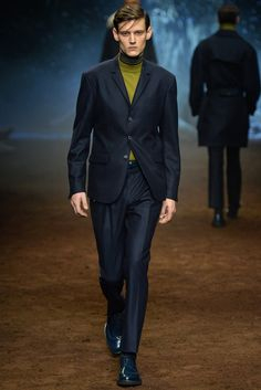 Corneliani Men's RTW Fall 2015 [Photo by Davide Maestri]