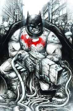 Batman - Dark Knight Returns by Jonathan Wayshak *