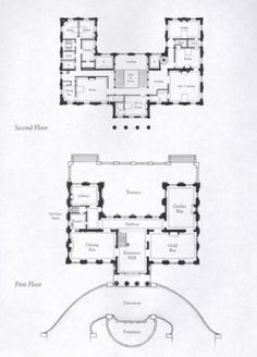 Marble House Floor Plan