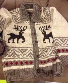 We Like Knitting: Cowichan Jacket - Free Pattern