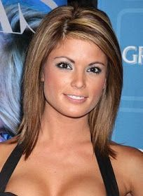 All Celebrity Hairstyles: Cute Medium Length Haircuts 2013... I like the pretty color