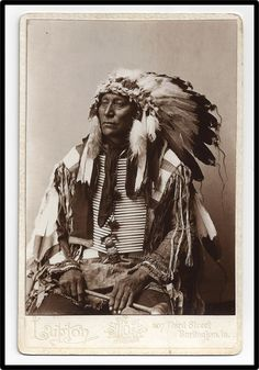 Sioux Chief Warrior Rain In The Face