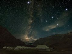 14 Places In India That Boast Of The Most Beautiful Night Skies