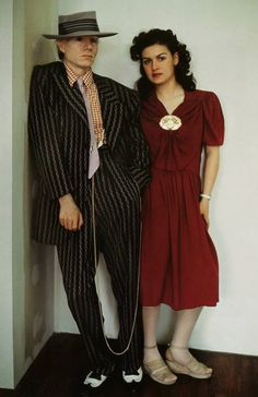 Andy Warhol and Paloma Picasso