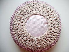 Crochet Pouf por LoopingHome en Etsy