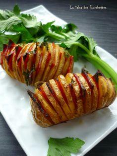Pommes éventail au Chorizo #Recette #facile @valeriemousseau