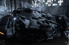 Batman v Superman: Dawn of Justice's Batmobile Gets an Official Still!