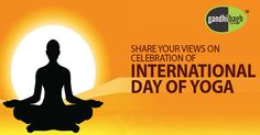 Yoga is about awakening…!!! Yoga is about creating a life that brings more beauty and more love into the world..!!! Yoga is about clearing away whatever is in us that Prevents Our Living in the most full and Whole Day.   Stay Healthy … Live Healthy with YOGA…!!! Make your life Beautiful on this International Yoga Day…!!!  Lots of Great Wishes for #International_Yoga_Day_2016 from Gandhibagh.com