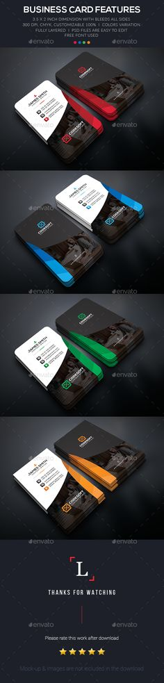 Creative Business Card - Business Cards Print Templates Download here : http://graphicriver.net/item/creative-business-card/15930476?s_rank=333&ref=Al-fatih