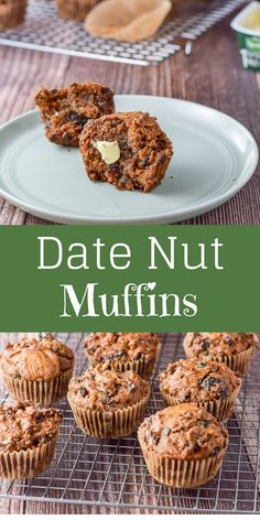 Date Recipes Desserts, Baby Food Recipes, Sweet Recipes, Baking Recipes, Cookie Recipes, Date Recipes Healthy, Recipes With Dates, Eggless Desserts, Date Muffins