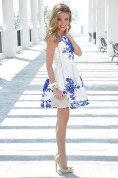 Persunmall Dress, Menbur Bag, Jimmy Choo Heels <3 this little cute dress!
