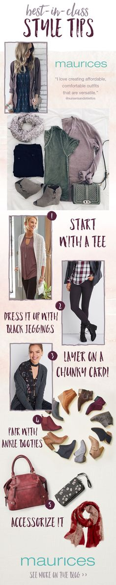 Discover even more ways to ace back to school teacher style this fall with best-in-class style tips from guest style blogger and elementary teacher, Deb. Plus, don't forget to enter #mauriceslovesteachers Sweepstakes for your chance to win up to $500 in gift cards to outfit your closet and classroom #mauriceslovesteachers