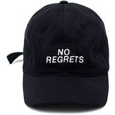 No Regrets Black Cap ($150) ❤ liked on Polyvore featuring accessories, hats, accessories - hats, caps and cap hats
