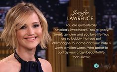 Jennifer Lawrence would play me in the Lifetime Original movie of my life. Who would play your role? - Quiz