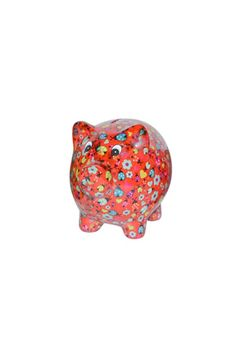 """Meet Pixie Pig! Pixie is an artfully creative, ceramic piggy bank from Belgium!Continuously inspired by stylish environments like fashion, interior design, ortravelling,Pomme-Pidoublends the newest trends with the funniest shapes. Collect them all!    Measures:8.25"""" x 6.25""""   Pixie Piggie Bank by Pomme-Pidou. Home & Gifts - Gifts - Gifts by Occasion - Just Because Kentucky"""