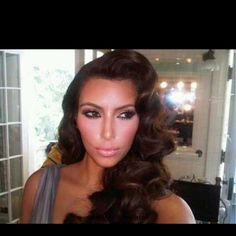 jessica rabbit hair on kim kardashian #love