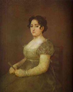 Woman with a Fan - Francisco Goya
