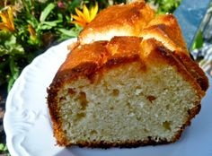 MARI PLATEAU: Εύκολο κεικ λεμονιού με σιρόπι