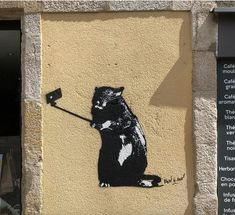Blek Le Rat in Quimper, France, 2018 Street Art News, Street Artists, Blek Le Rat, Pet Rats, Gcse Art, Baby Cartoon, Gifts For Pet Lovers, Animal Quotes, Animal Tattoos