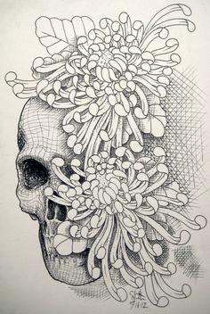 Skull Flower – Best tattoos, best tattoo artists
