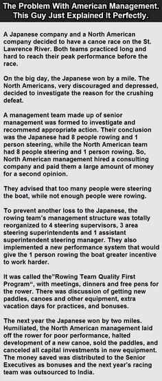 Problem w/ American Management