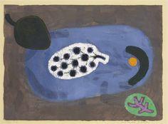 Paul Klee, Fruits from Overseas - 1938 on ArtStack #paul-klee #art