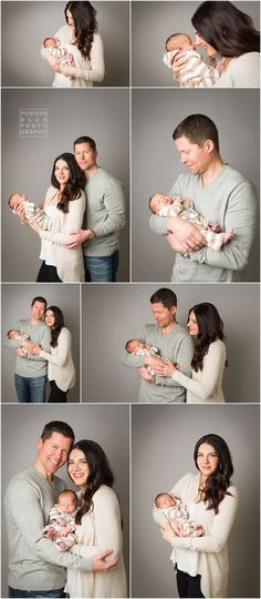pittsburgh newborn photographer, 10 day old baby boy in studio lifestyle newborn session, neutral brown blanket and grey seamless savage paper backdrop #ParentingNewborn