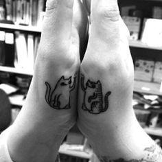 Yeah! High five tattoo FTW. | 24 Cherishable Best Friend Tattoos