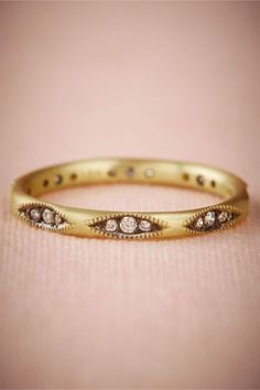 Clara Ring, non traditional engagement or wedding ring with art deco details and diamond accents